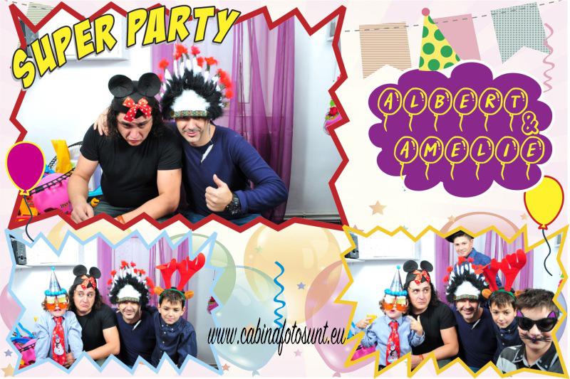Cabina foto - petrecere copii