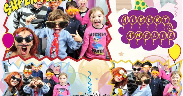 Cabina foto - aniversare copii - petrecere zi nastere