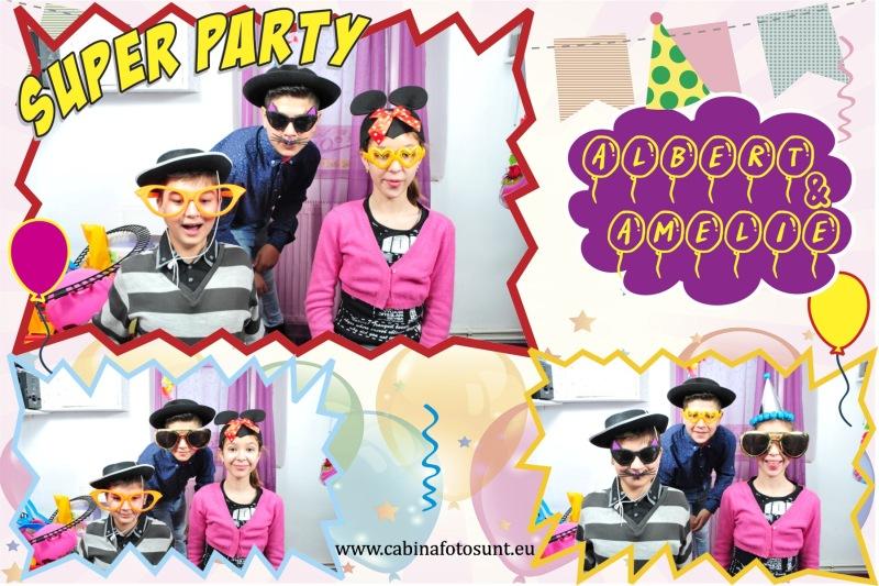 Cabina foto - petrecere zi de nastere