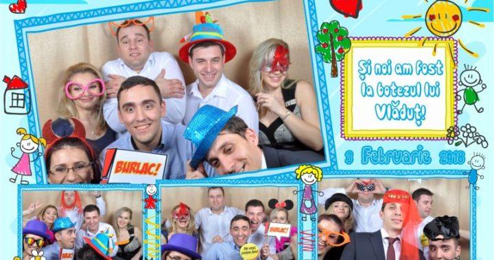 Petreceri si evenimente cu Cabina Foto